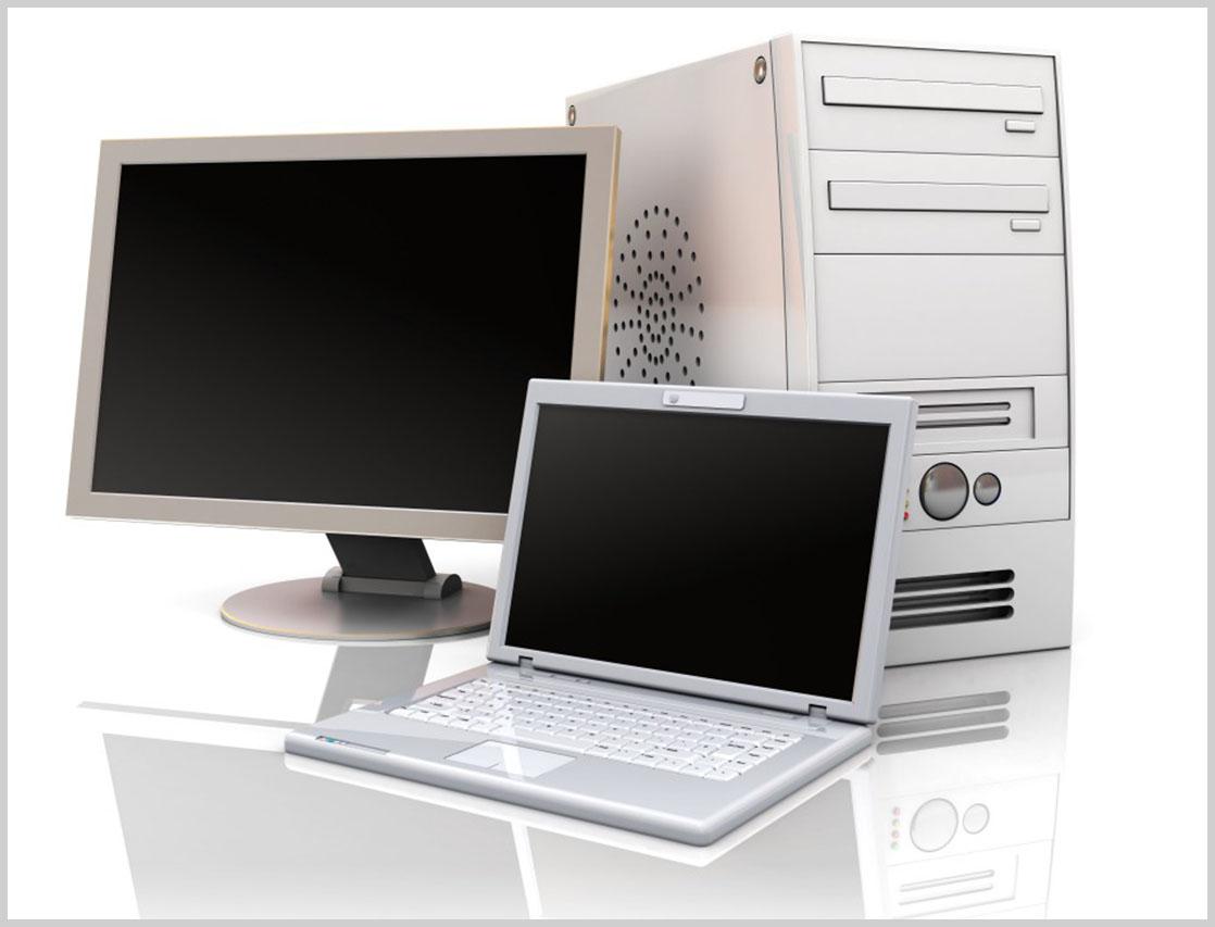 Ordinateur portable ou un ordinateur de bureau u easy rental